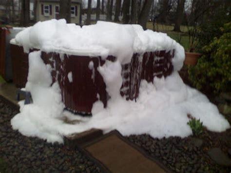 how to get foam in bathtub how do i get rid of hot tub foam