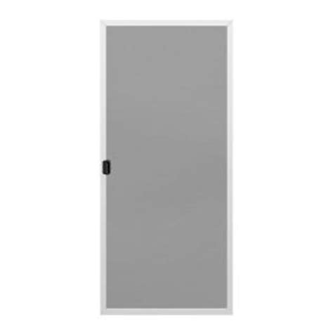 Screen Patio Doors Home Depot by Jeld Wen Screen For 72 In X 80 In Steel Patio Door White
