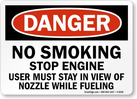 no smoking sign at gas station gas station signs mysafetysign com