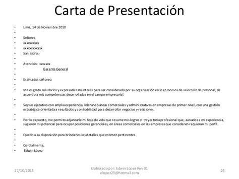 carta de presentacion laboral primer empleo estrategias para conseguir empleo