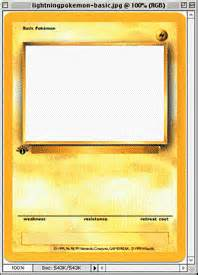 Pics photos how to make your own pokemon card