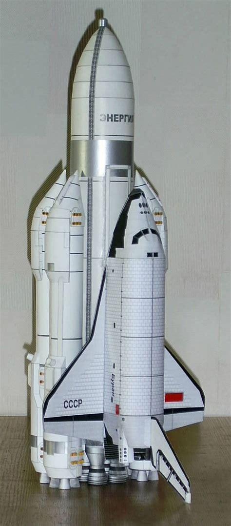 Papercraft Space Shuttle - buran energia papercraft papercraft