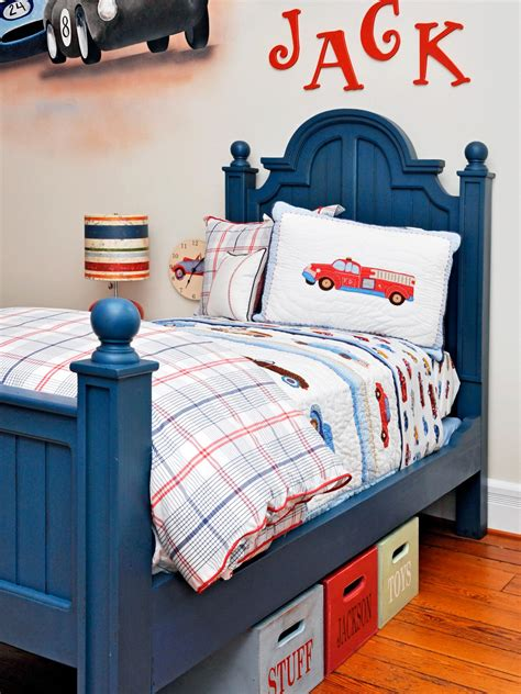 boys car themed bedroom photo page hgtv
