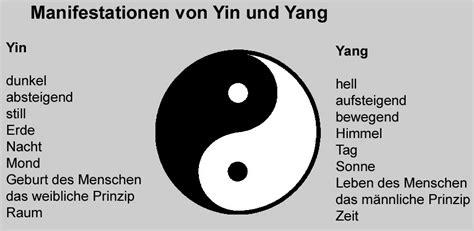 Bedeutung Yin Und Yang 5277 by Kfkunstteam Go Ju Die Grundlagen Der Akupunktur