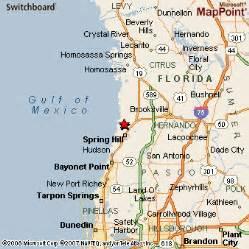 Hernando Florida Map by Hernando Beach Florida