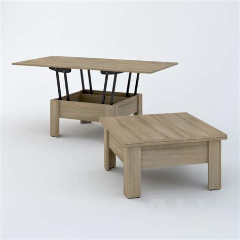 Zegen Coffee 3d models table coffee table convertible cleo zegen