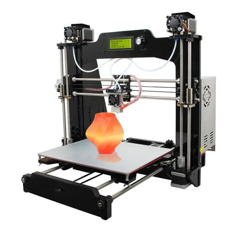 3d color printer geeetech prusa i3 m201 dual extruder mixcolor open source