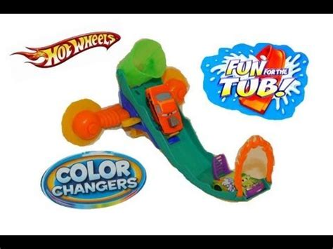 hot wheels track for bathtub color changers cars on hot wheels splash track fun in the