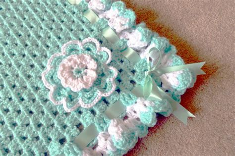 Handmade Crochet Baby Blankets For Sale - lauras all made up uk fashion lifestyle