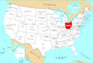 Ohio Map Usa by Where Is Ohio Located Mapsof Net