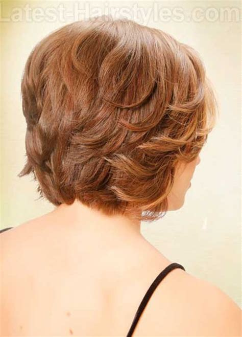 asymmetrical bob haircut back view for found hairdo tiny
