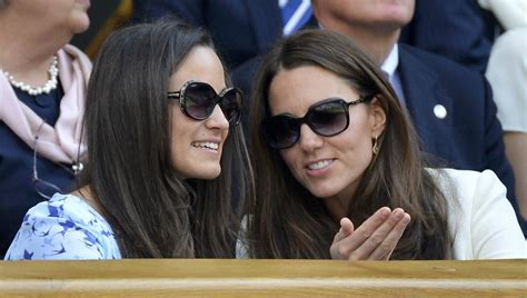 duchess of cambridge pippa middleton the duchess of cambridge wear givenchy sunglasses at wimbledon murray