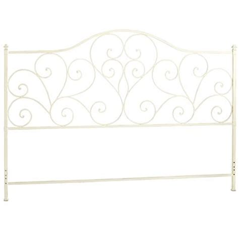 scroll headboard antique white pier 1 imports