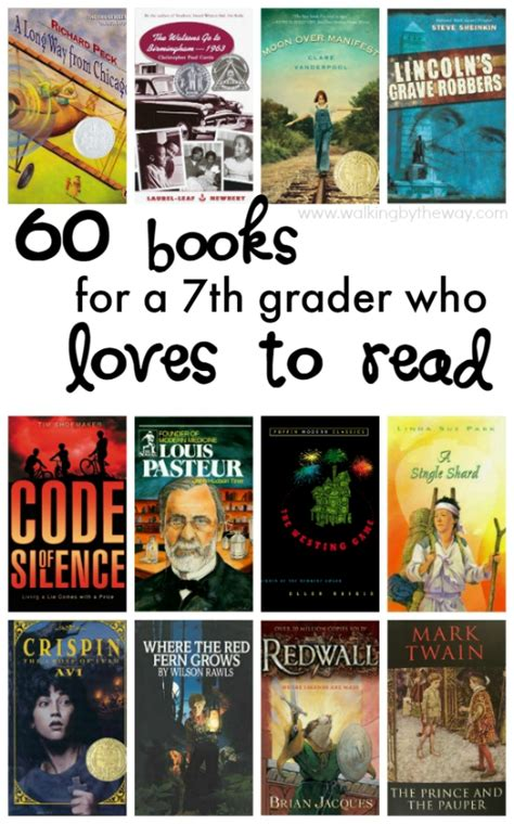 biography books for 7th graders 7th grade reading list from walking by the way family