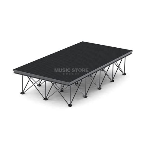 stage 2 art desk lightmaxx alu stage riser x desk 2x1m tischplatte black