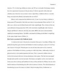 Obesity Essays by Essay On Childhood Obesity Essay Sle