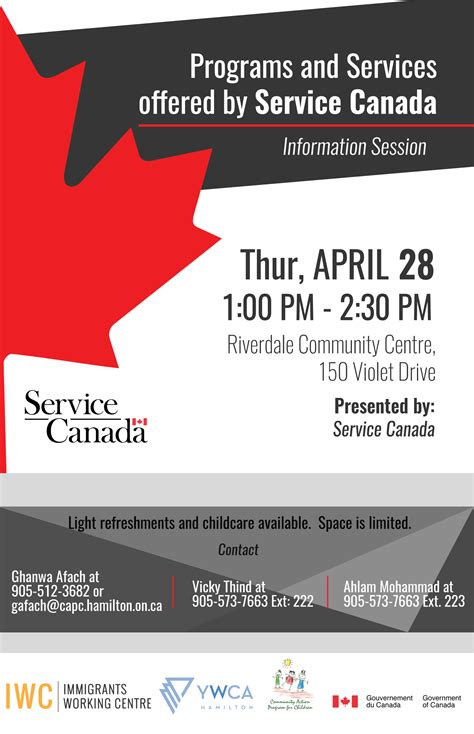 service canada programs and services offered by service canada sprc
