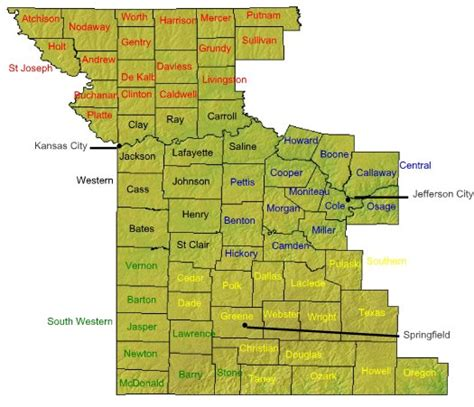 western district of texas map the western district of missouri usao wdmo department of justice