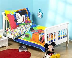 Disney mickey mouse clubhouse 4pc bedding set toddler size