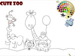Galerry animal colouring games online free
