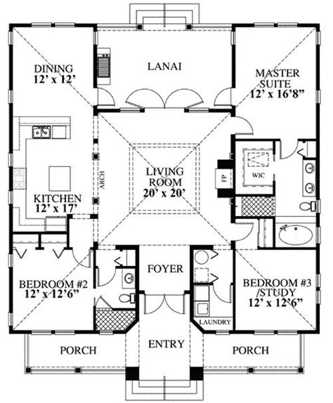 vacation cottage floor plans 25 best ideas about beach house plans on pinterest