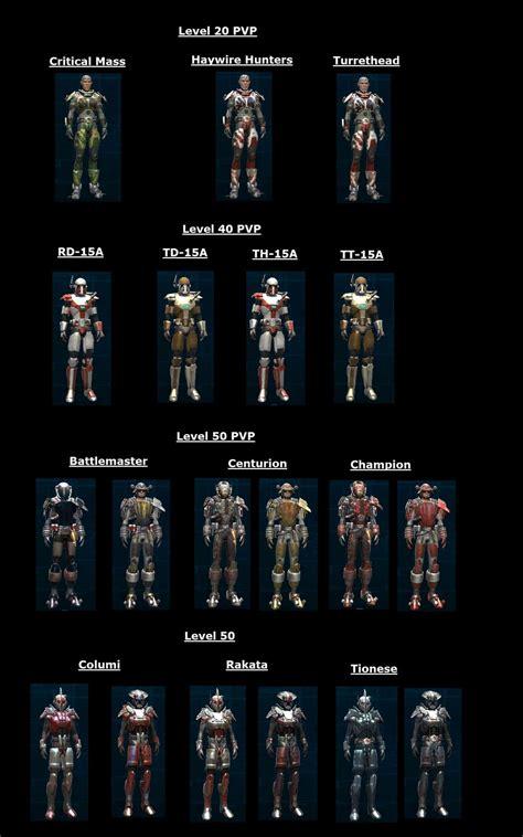 Gear Bonus Cap swtor battles january 2012