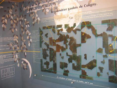 Calendrier De Coligny Calendrier Gaulois Et Dieu De Coligny