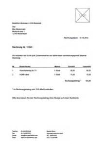 Privatperson Rechnung Ins Ausland Kostenlose Rechnungsvorlage Vorlagen Muster F 252 R Rechnungen