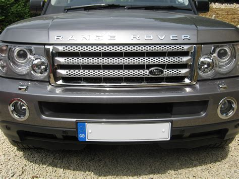 chrome land rover chrome grille for range rover sport supercharged grill ebay