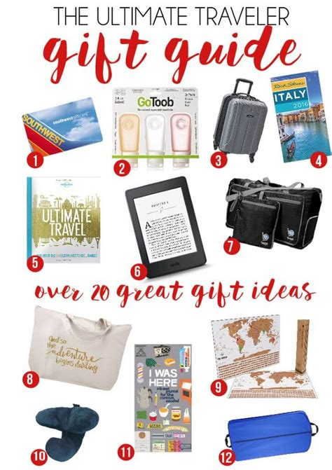 20 great gifts for travelers