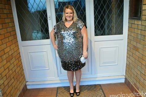 Ready New 2in1 Fashion Picotinea 9117 plus size sequin dress pluslook eu collection