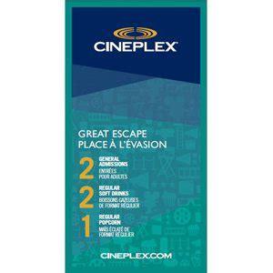 cineplex voucher cineplex great escape proactive health group