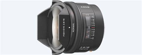 Sony Lens Sal 16mm F2 8 Fish Eye sony sal16f28 a mount frame 16mm f2 8 fisheye