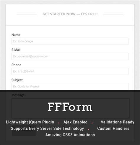 jquery registration form template gallery of html validation with javascript mesh software