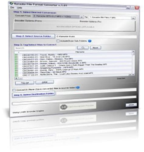 Karaoke Format Converter   karaoke software premier computer software for the