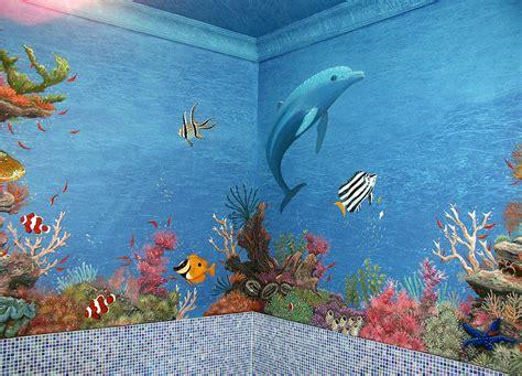 Sprei Sea Dolphine dolphin underwater canvas print canvas by artur sula