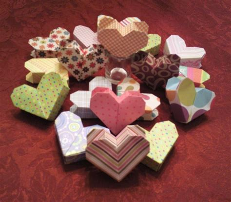 3d origami heart box tutorial 3d origami heart boxes with secret compartment