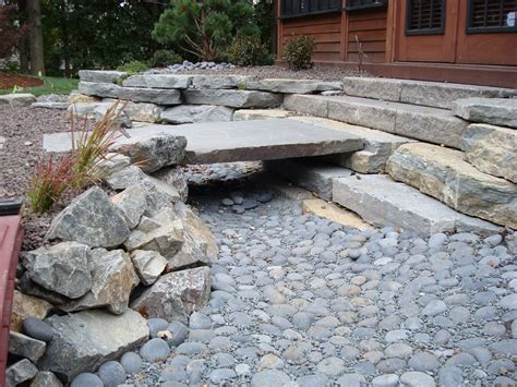 backyard creek ideas backyard landscaping ideas on pinterest retaining walls dry creek and dry creek bed