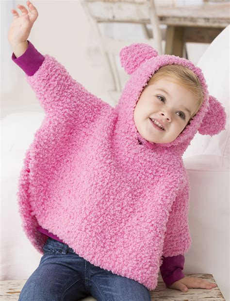 free knitting patterns poncho child free knitting pattern for playful hooded poncho garter