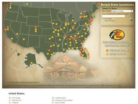 locations of shops on map store map bass pro shops smokie does stuff