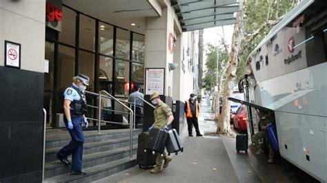 sydney quarantine hotel evacuated