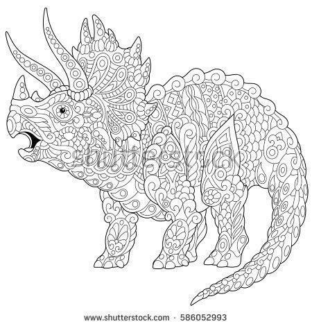 dinosaur mandala coloring pages dinosaur mandala images reverse search