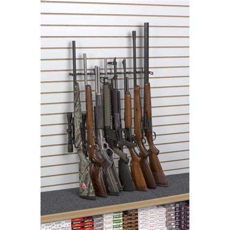 Slatwall 20cm No 3 Cantelan Accessories 2 8 rifle shelf display slat wall sku 6271s rack em racks