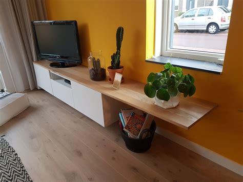 tv kastjes eiken eiken houten blad besta meubel tv meubel kastjes