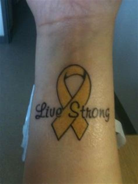 is my tattoo supposed to peel the yellow ribbon is for childhood cancer the is