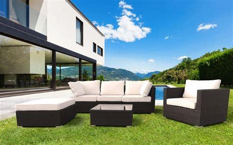 arredamenti per esterni giardini set arredo per esterni divano e poltrone per giardino