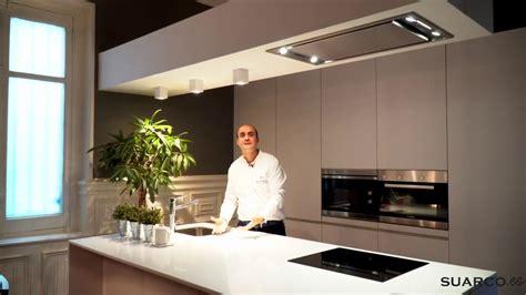 una cocina moderna blanca  isla espectacular youtube