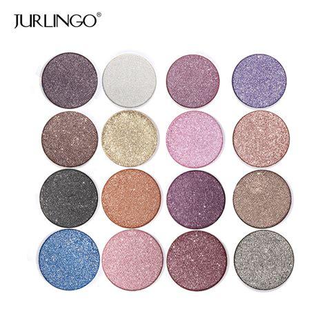 Eyeshadow Shimmer professional eye shadow palette make up waterproof shimmer eyeshadow pigment with brush