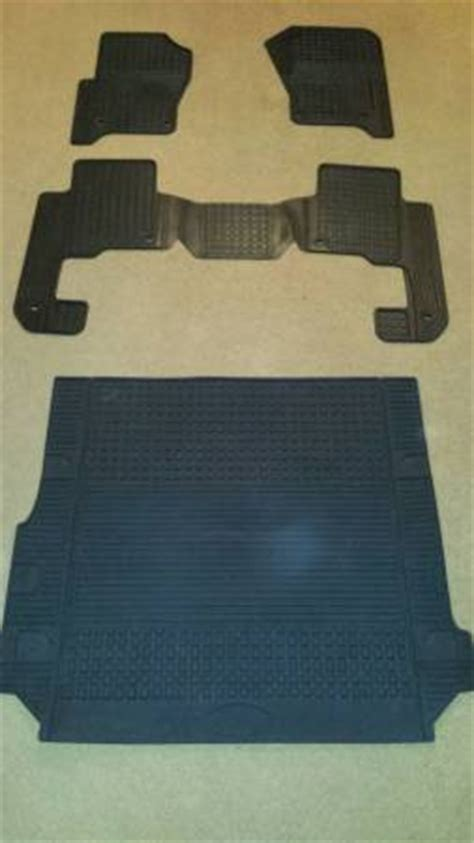 rubber mats for sale for sale lr3 oem rubber floor mats and cargo mat land
