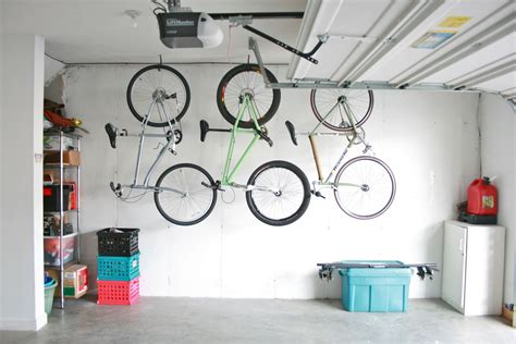 Hooks To Hang Bicycles In Garage by Best Way To Hang Bikes Garage Rachael Edwards